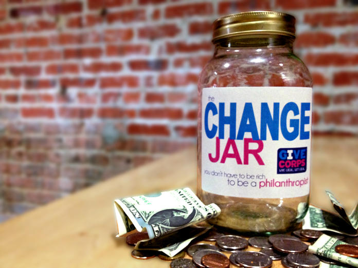 GiveCorps - Change Party - Change Jar